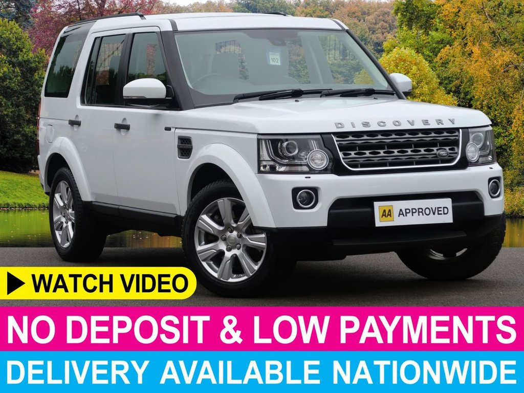 USED 2015 64 LAND ROVER DISCOVERY 3.0 SDV6 SE TECH AUTO 255 BHP 5DR SAT NAV PANORAMIC GLASS ROOF
