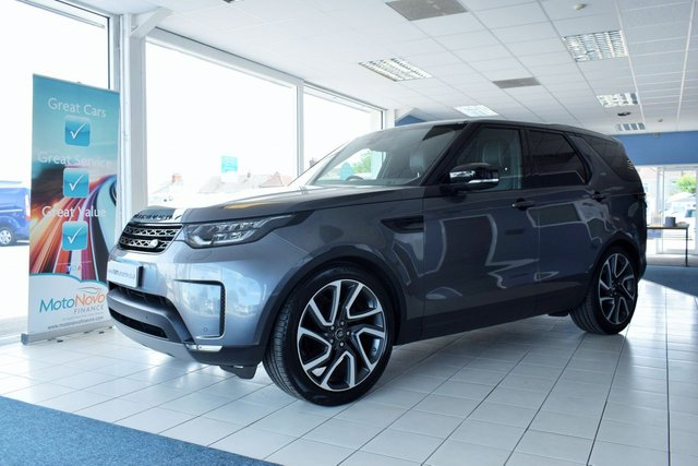 2018 18 LAND ROVER DISCOVERY 3.0 HSE DIESEL COMMERCIAL EURO 6 BLACK PACK