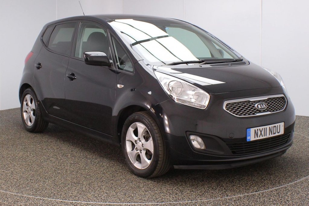 USED 2011 11 KIA VENGA 1.6 3 5DR AUTO 123 BHP KIA SERVICE HISTORY + PANORAMIC ROOF + CLIMATE CONTROL + MULTI FUNCTION WHEEL + PRIVACY GLASS + RADIO/CD/AUX/USB + ELECTRIC WINDOWS + ELECTRIC MIRRORS + 16 INCH ALLOY WHEELS