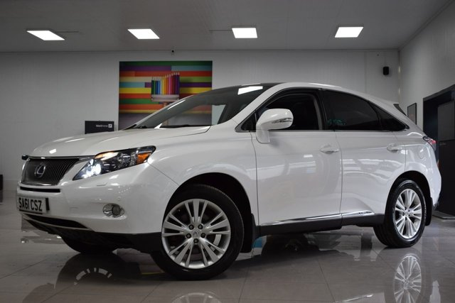 USED 2011 61 LEXUS RX 3.5L 450H SE-I 5d 249 BHP STUNNING LEXUS RX WITH FSH 8 STAMPS! MUST BE SEEN!