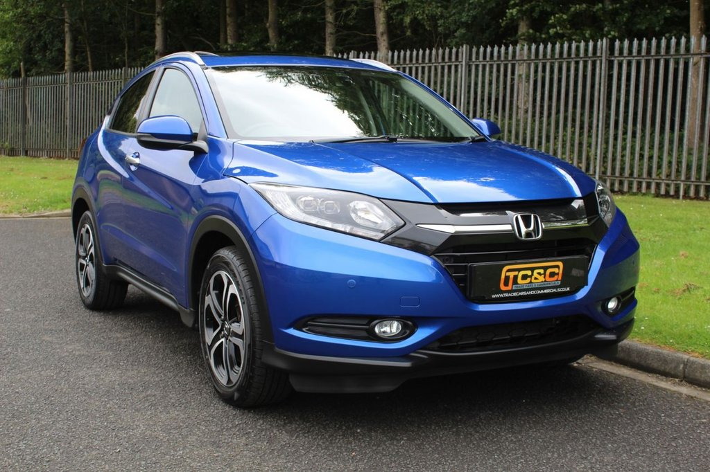 USED 2017 17 HONDA HR-V 1.5 I-VTEC EX 5d 129 BHP A STUNNING ONE OWNER HRV WITH A HUGE SPECIFICATION!!!