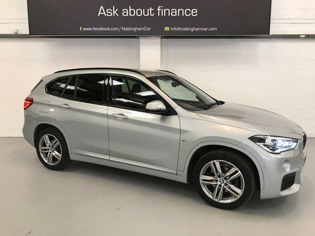 USED 2018 68 BMW X1 2.0 XDRIVE18D M SPORT 5d 148 BHP
