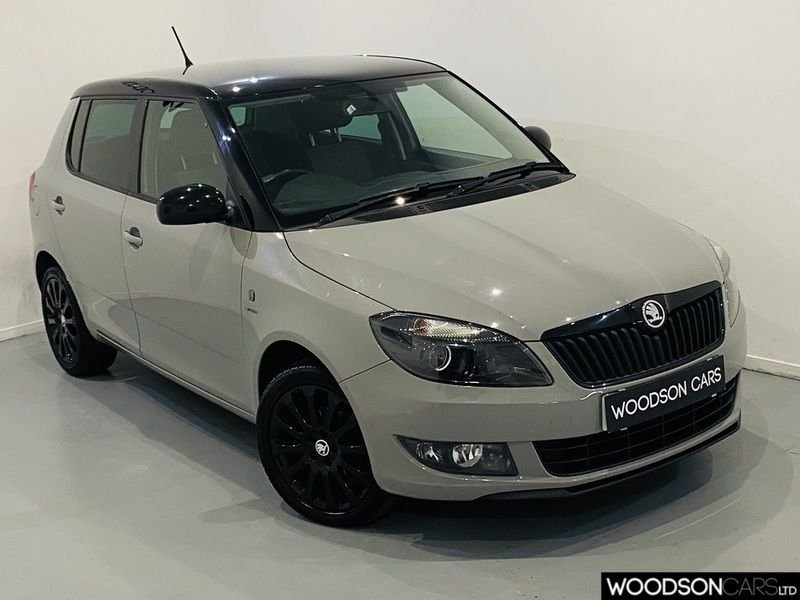 USED 2013 63 SKODA FABIA 1.2 REACTION 12V 5d 68 BHP Isofix / Gloss Black Alloy Wheels / AUX / Privacy Glass