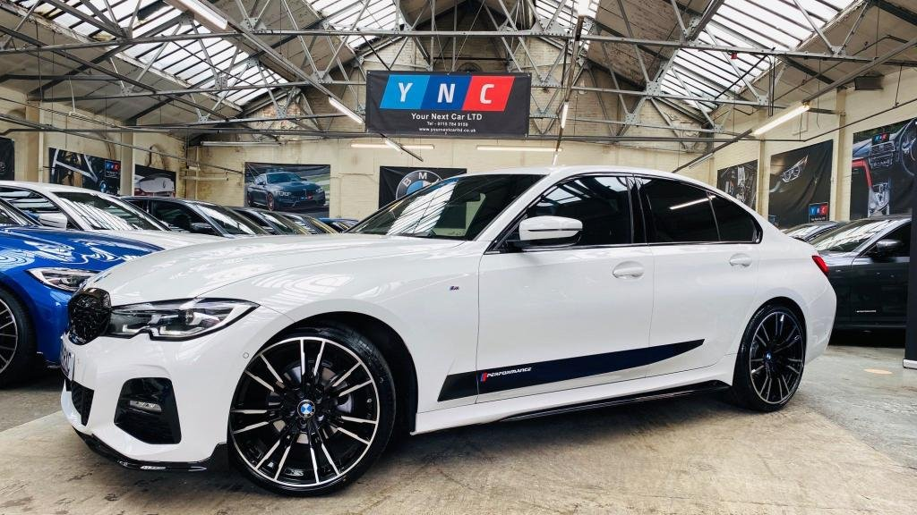USED 2019 19 BMW 3 SERIES 2.0 320i M Sport Auto (s/s) 4dr PERFORMANCE KIT 20S 1 OWNER