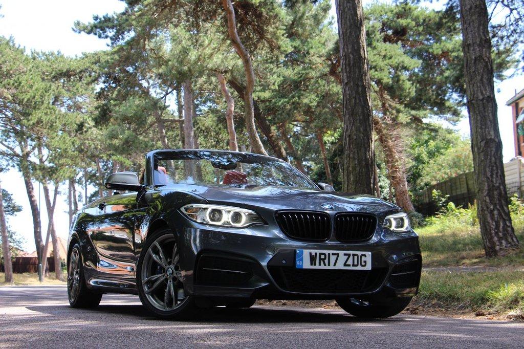 USED 2017 17 BMW 2 SERIES M240i Convertible 340 BHP