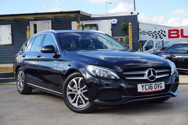 USED 2016 16 MERCEDES-BENZ C-CLASS 1.6 C200 D SPORT 5d 136 BHP GREAT EXAMPLE FULL LEATHER