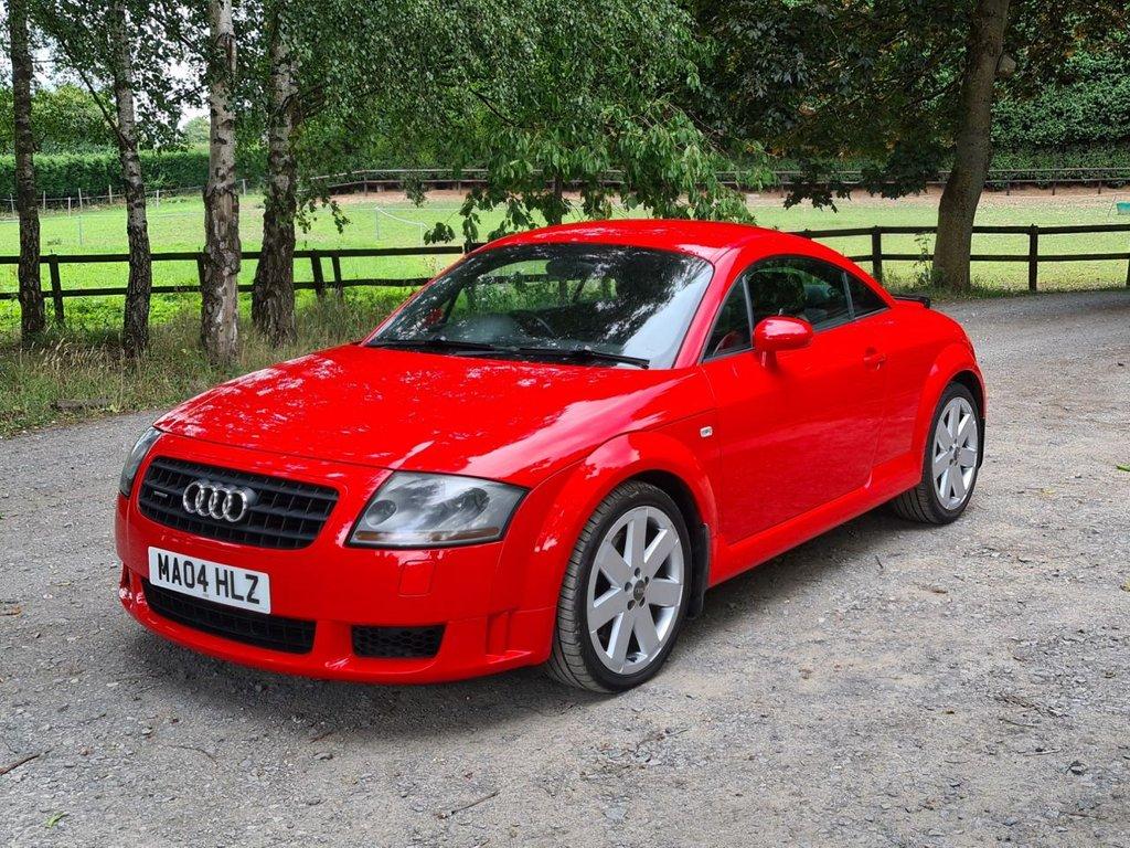 USED 2004 04 AUDI TT 3.2 V6 QUATTRO 3d 247 BHP +++STUNNING MISANO RED+++