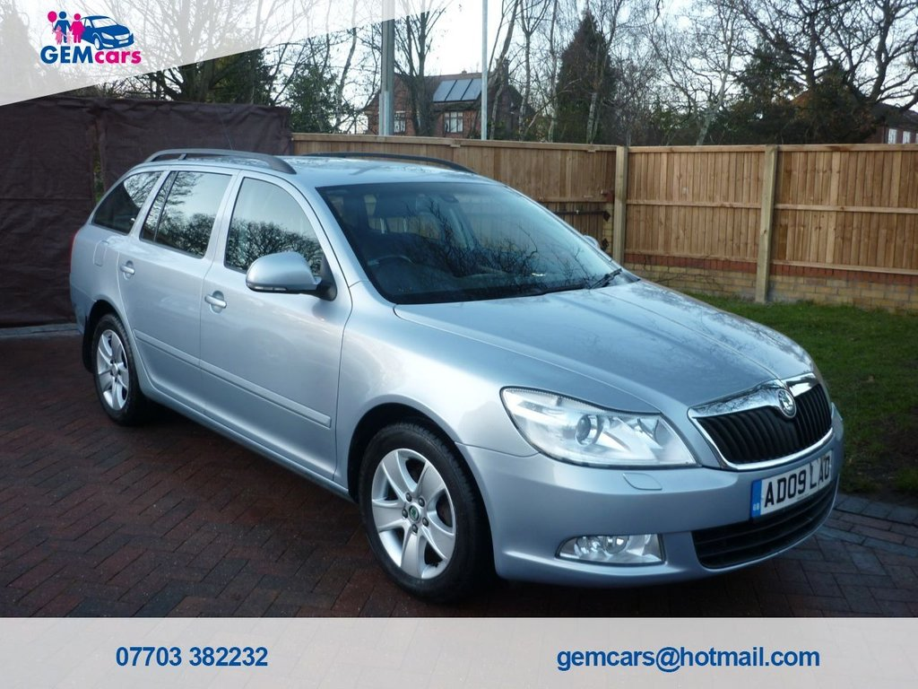 USED 2009 09 SKODA OCTAVIA 2.0 ELEGANCE TDI 5d 138 BHP GO TO OUR WEBSITE TO WATCH A FULL WALKROUND VIDEO