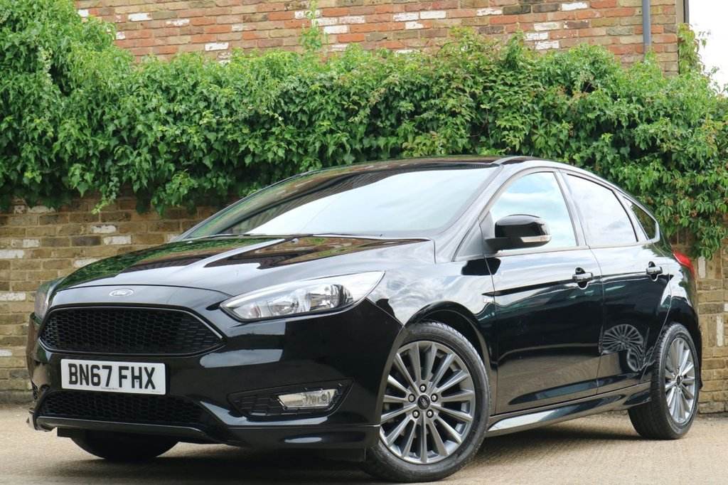 USED 2017 67 FORD FOCUS 1.0 ST-LINE 5d 124 BHP