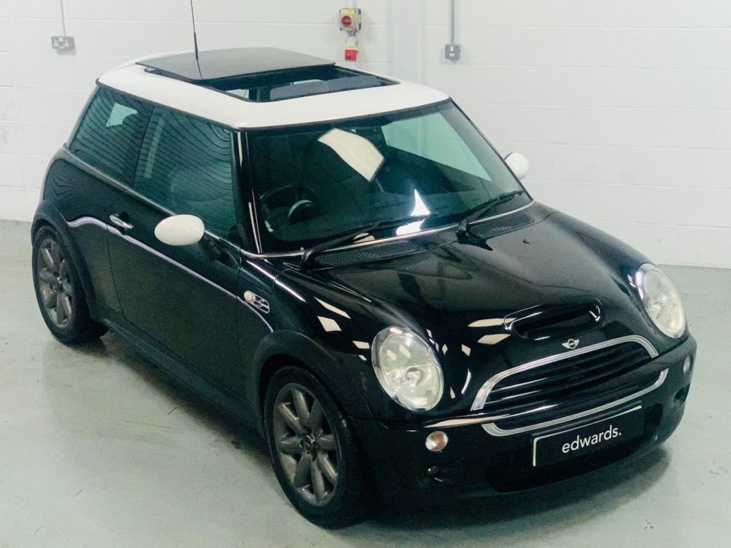 USED 2003 03 MINI HATCH COOPER 1.6 COOPER S 3d 161 BHP