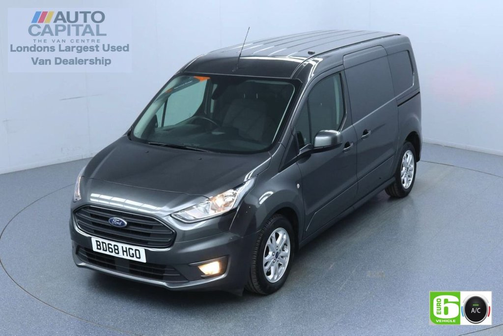 USED 2018 68 FORD TRANSIT CONNECT 1.5 240 Limited 120 BHP L2 LWB 2 Seats Euro 6 Low Emission Finance Available Online | Keyless | Rear Tow Fitted