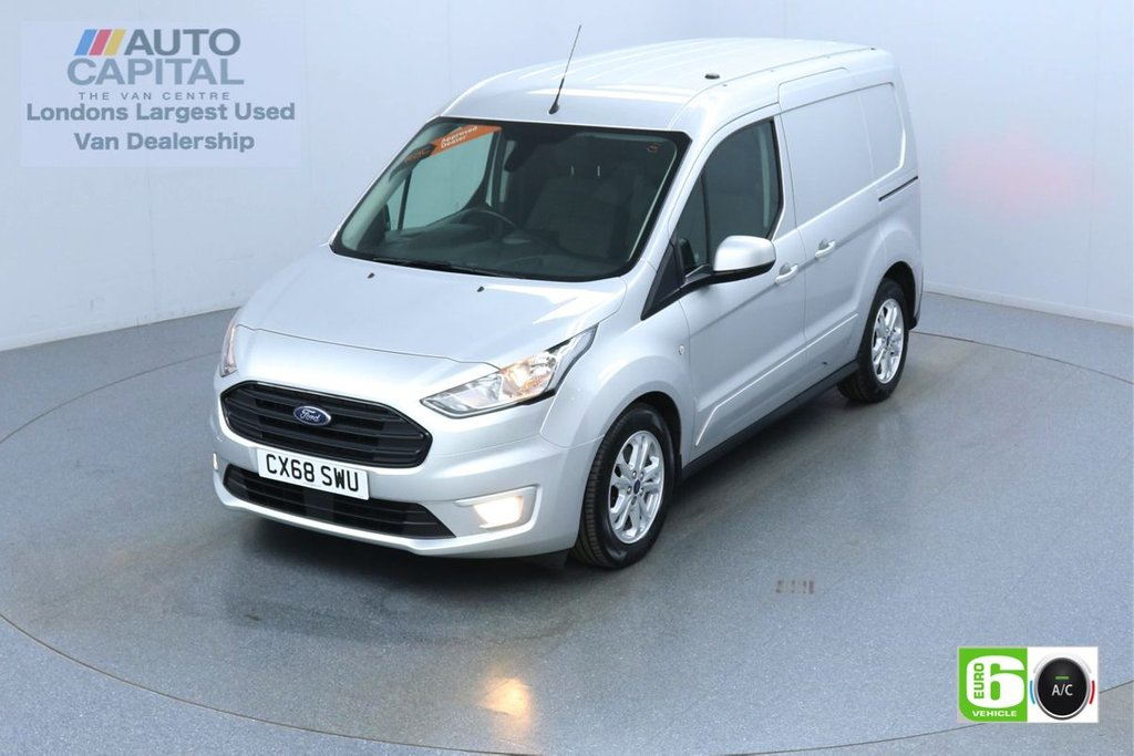 USED 2018 68 FORD TRANSIT CONNECT 1.5 200 Limited 120 BHP L1 SWB 3 Seats Euro 6 Low Emission Finance Available Online   Keyless   Rear Tow Fitted