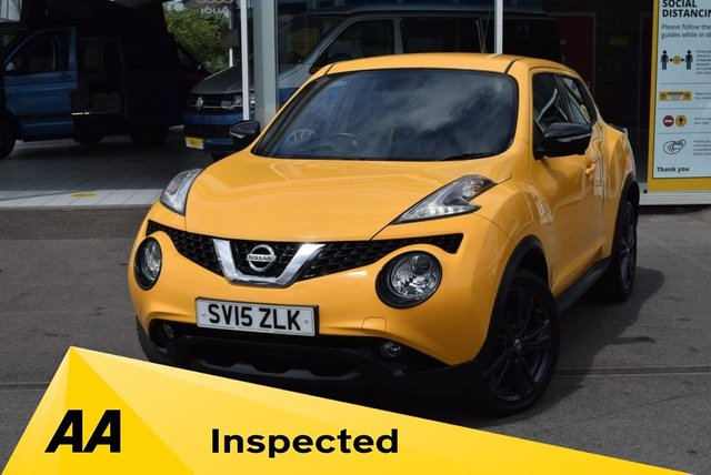USED 2015 15 NISSAN JUKE 1.2 TEKNA DIG-T 5d 115 BHP FINANCE TODAY WITH NO DEPOSIT - SERVICE HISTORY
