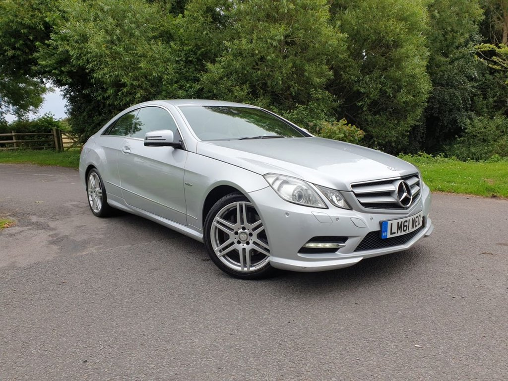 USED 2011 61 MERCEDES-BENZ E-CLASS 3.0 E350 CDI BLUEEFFICIENCY SPORT 2d 265 BHP