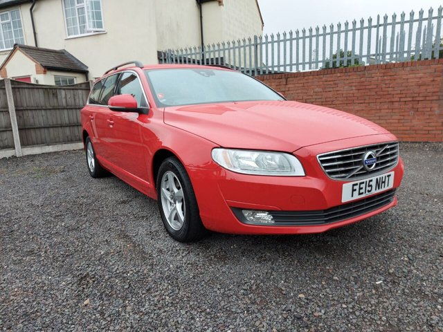 USED 2015 15 VOLVO V70 2.4 D5 BUSINESS EDITION 5d 215 BHP