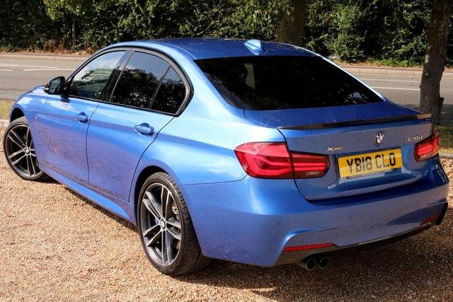 2018 18 BMW 3 SERIES 2.0 320D XDRIVE M SPORT SHADOW EDITION 4d 188 BHP AUTOMATIC