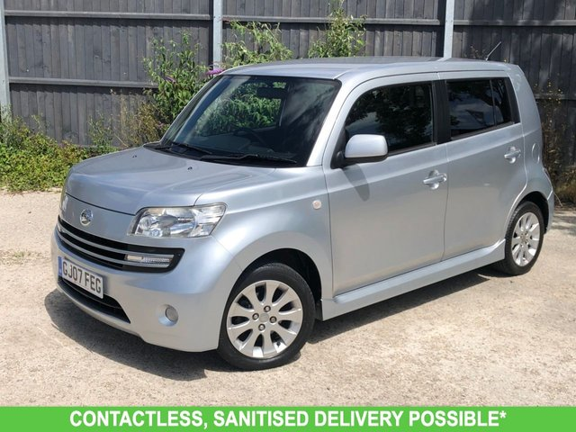 USED 2007 07 DAIHATSU MATERIA 1.5 16V 5d 103 BHP AUTOMATIC LOW MILEAGE, AIR CON, FINANCE ME TODAY-UK DELIVERY POSSIBLE