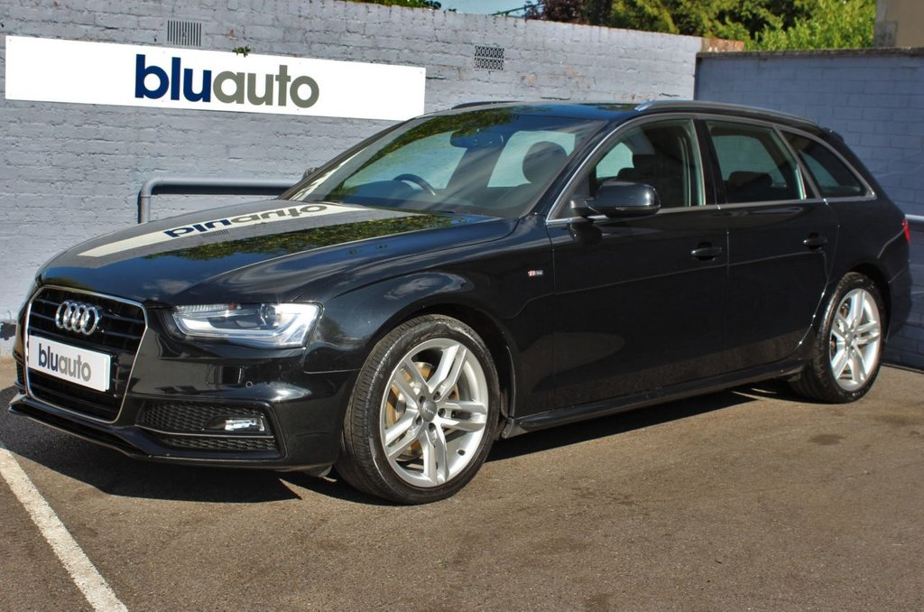 USED 2015 65 AUDI A4 2.0 AVANT TDI S LINE NAV 5d 148 BHP 2 Owners, Audi Servicing, Over £2400 of Extras.