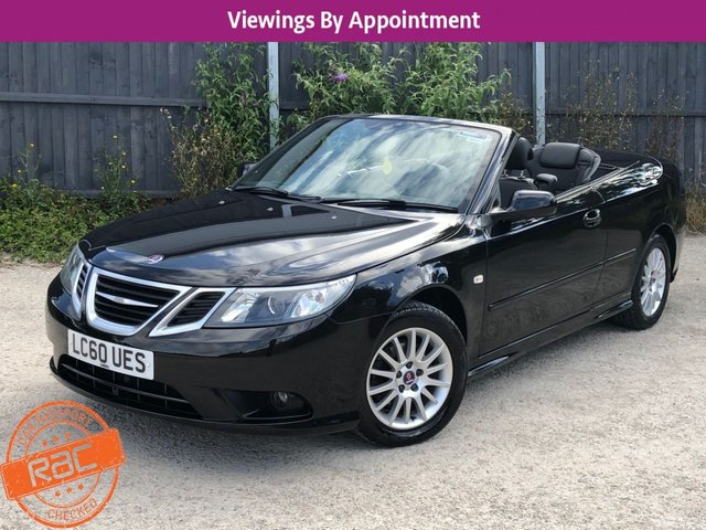 USED 2010 60 SAAB 9-3 1.9 LINEAR SE TID 2d 150 BHP LOW MILEAGE, AIR CON, FINANCE ME TODAY-UK DELIVERY POSSIBLE