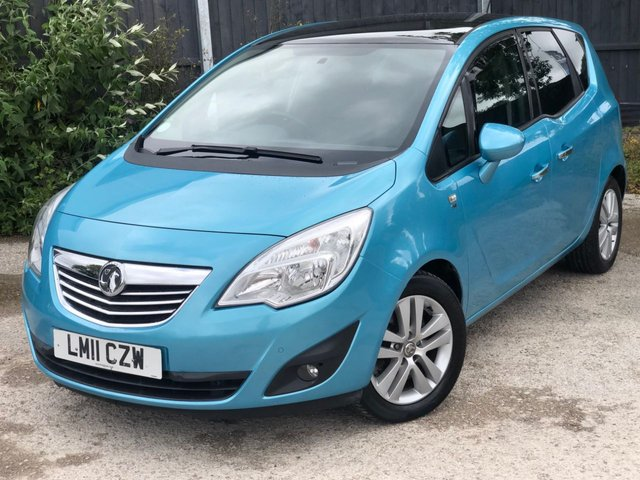 USED 2011 11 VAUXHALL MERIVA 1.7 SE CDTI 5d 99 BHP DIESEL AUTO.VERY NICE CAR. FINANCE ME TODAY-DELIVERY POSSIBLE PX WELCOME