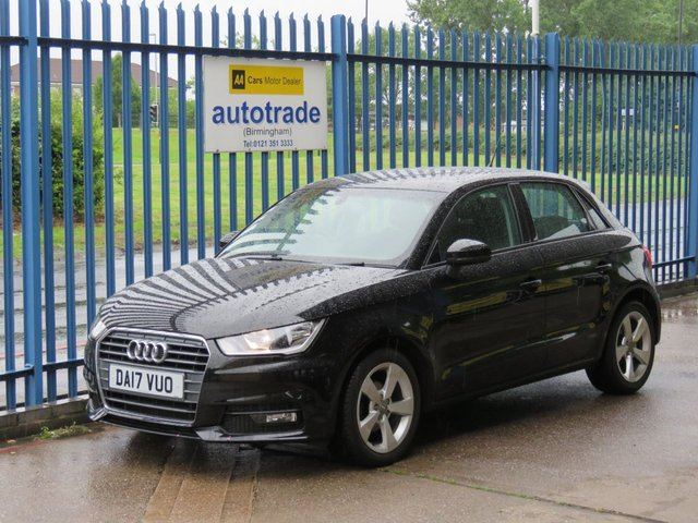 USED 2017 17 AUDI A1 1.0 SPORTBACK TFSI SPORT 5d 93 BHP. ULEZ COMPLIANT, DAB, BLUETOOTH BLUETOOTH, DAB, MEDIA VOICE CONTROL, ULEZ COMPLIANT, AIR CONDITIONING