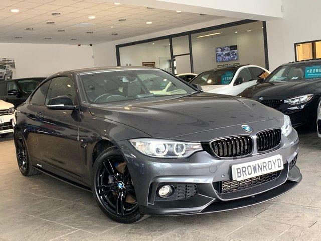 USED 2015 15 BMW 4 SERIES 2.0 420D XDRIVE M SPORT 2d 188 BHP BM PERFORMANCE STYLING+6.9%APR