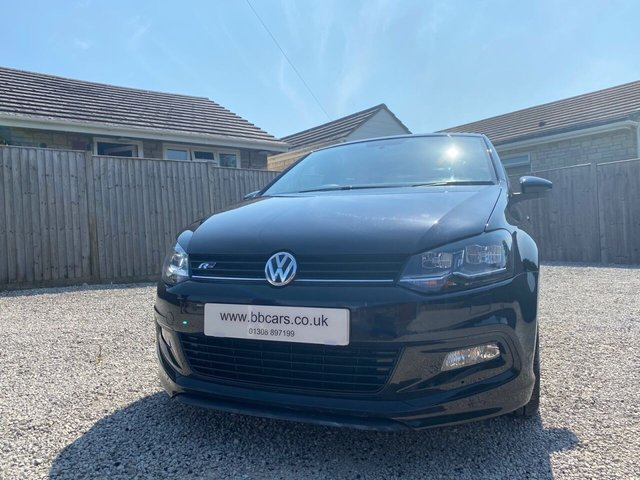 2017 17 VOLKSWAGEN POLO 1.0 R LINE TSI 5Dr 110 BHP PAN ROOF