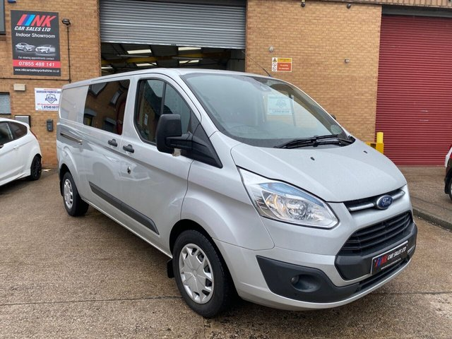 2016 16 FORD TRANSIT CUSTOM 2.2L 330 TREND LR P/V 0d 124 BHP SOLD TO A DYSON PLASTERING LTD FROM ROTHERHAM