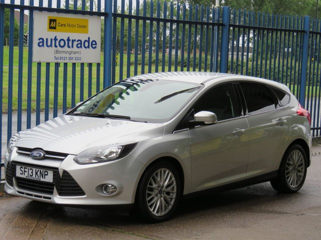 """USED 2013 13 FORD FOCUS 1.6 ZETEC TDCI 5d 113 BHP dab bluetooth rear reversing camera dab, Bluetooth, rear parking camera, air conditioning, 17"""" Alloys, Privacy Glass"""