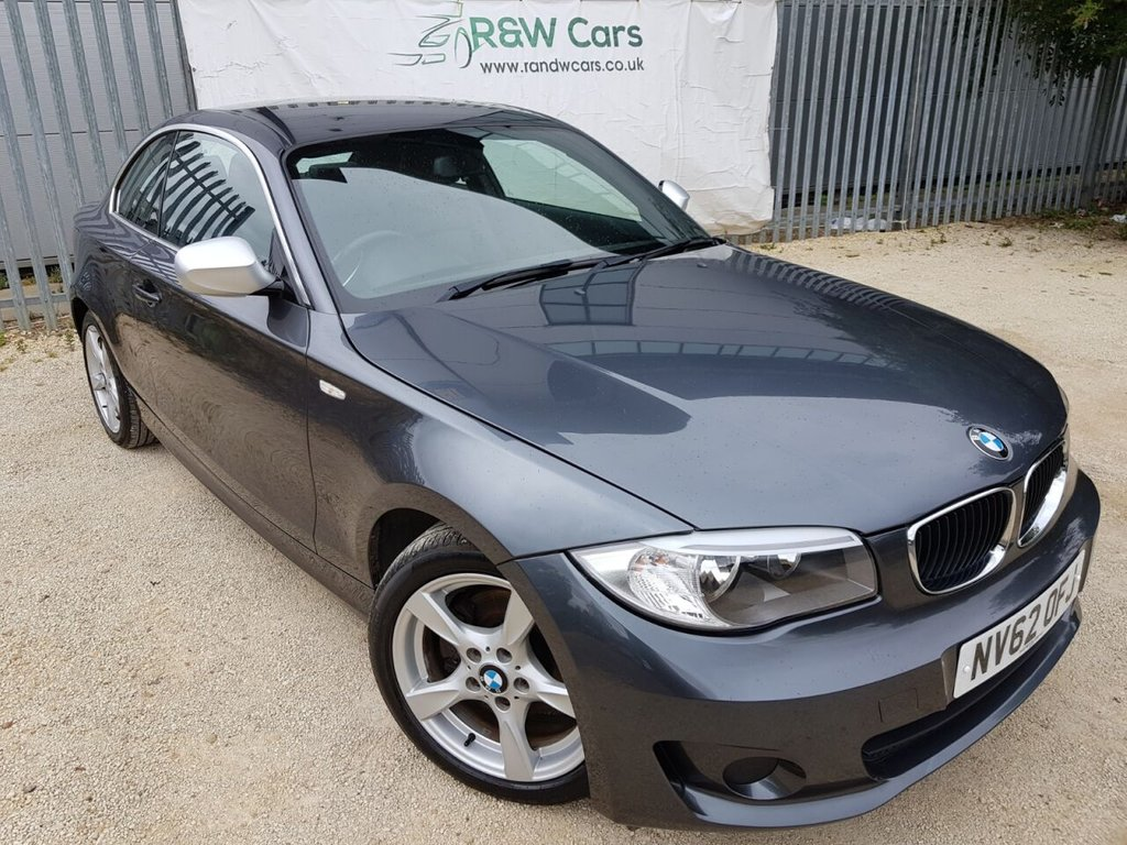USED 2013 62 BMW 1 SERIES 2.0 118D EXCLUSIVE EDITION 2d 141 BHP
