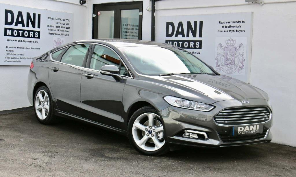USED 2017 17 FORD MONDEO 2.0 TDCi Titanium Powershift (s/s) 5dr 1 OWNER*SATNAV*PARKING AID