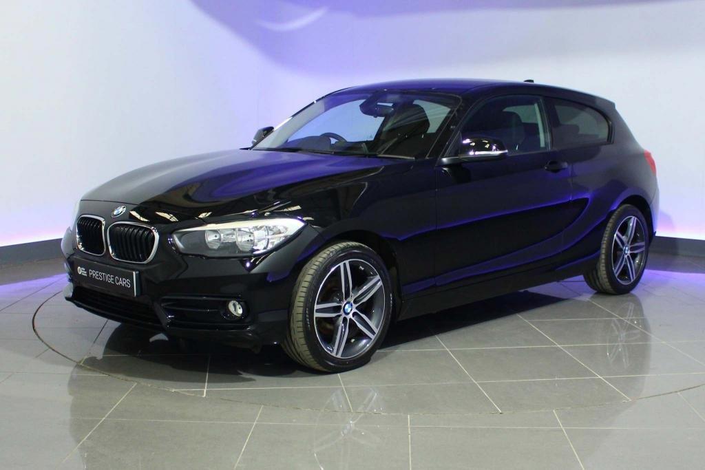 USED 2018 68 BMW 1 SERIES 1.5 118i GPF Sport Sports Hatch (s/s) 3dr SAT NAV - AUTO WIPERS & LIGHTS