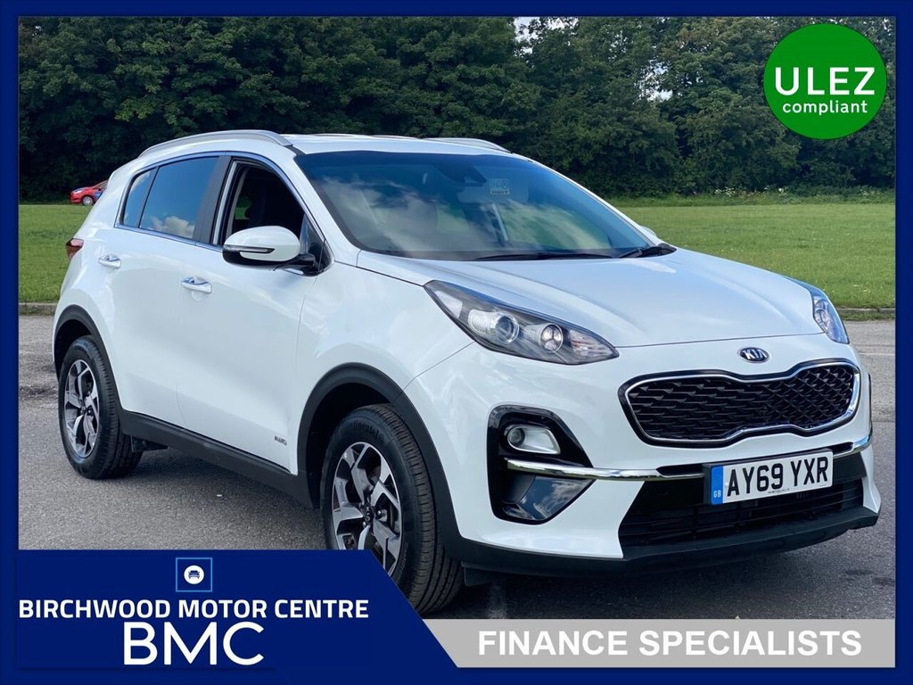 USED 2019 69 KIA SPORTAGE 1.6 2 ISG 5d 175 BHP, LIKE NEW!! JUST 3,525miles, 1 OWNER, 5+YEAR'S WARRANTY REMAINING, GREAT SPECIFICATION, SAT NAV, BLUETOOTH, Ulez Compliant, IMMACULATE EXAMPLE THROUGHOUT