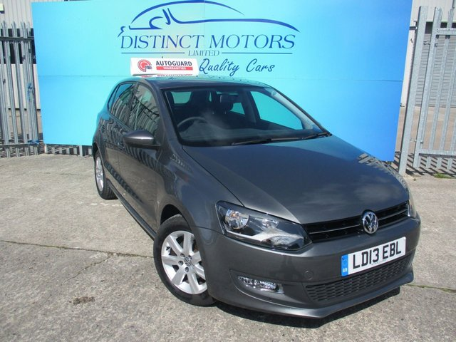USED 2013 13 VOLKSWAGEN POLO 1.4 MATCH EDITION DSG 5d 83 BHP