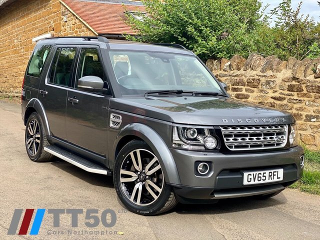 2016 65 LAND ROVER DISCOVERY 3.0 SDV6 HSE LUXURY 5d 255 BHP