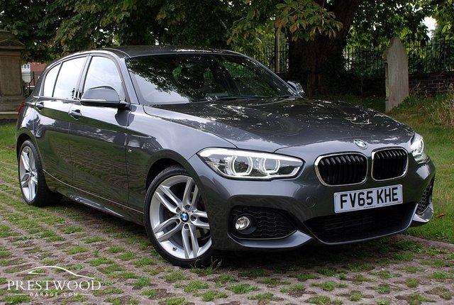 2016 65 BMW 1 SERIES 118d M SPORT [NAV] STEP AUTO [150 BHP] 5 DOOR HATCHBACK