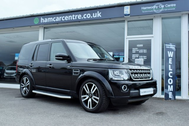 2015 65 LAND ROVER DISCOVERY 4 3.0 SDV6 SE 5d 255 BHP
