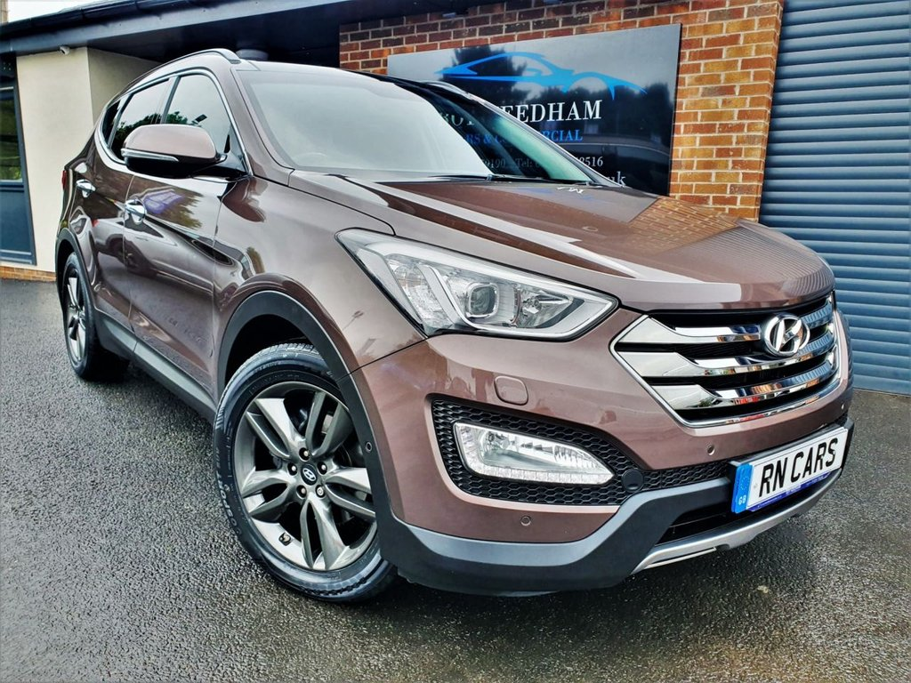USED 2014 14 HYUNDAI SANTA FE 2.2 PREMIUM SE CRDI 5DR 194 BHP *** 1 OWNER - LOW MILES - GREAT SPEC ***