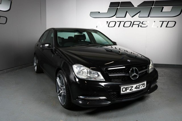 USED 2013 MERCEDES-BENZ C-CLASS 2013 MERCEDES C220 CDI BLUEEFFICIENCY EXECUTIVE SE NIGHT EDITION STYLE 168BHP (FINANCE AND WARRANTY)