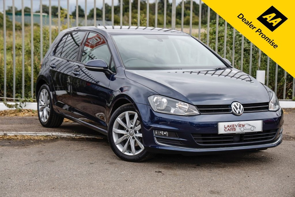 USED 2014 14 VOLKSWAGEN GOLF 1.4 GT TSI ACT BLUEMOTION TECHNOLOGY DSG 5d 138 BHP