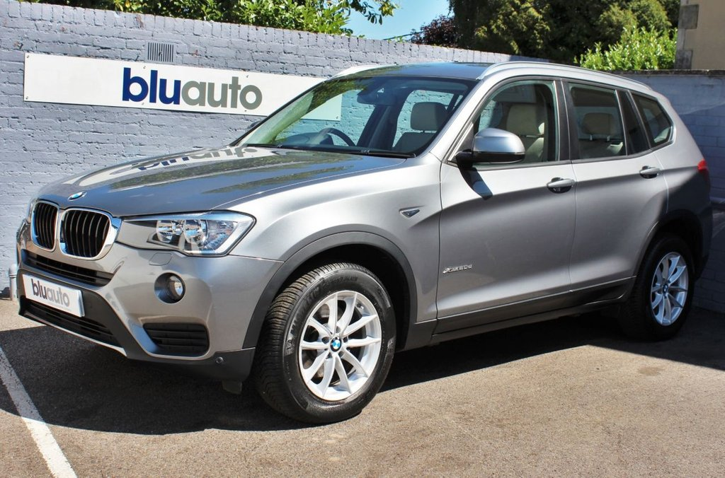 USED 2016 66 BMW X3 2.0 XDRIVE20D SE 5d 188 BHP 1 Owner, BMW Service History, Excellent Condition, White Leather Interior,