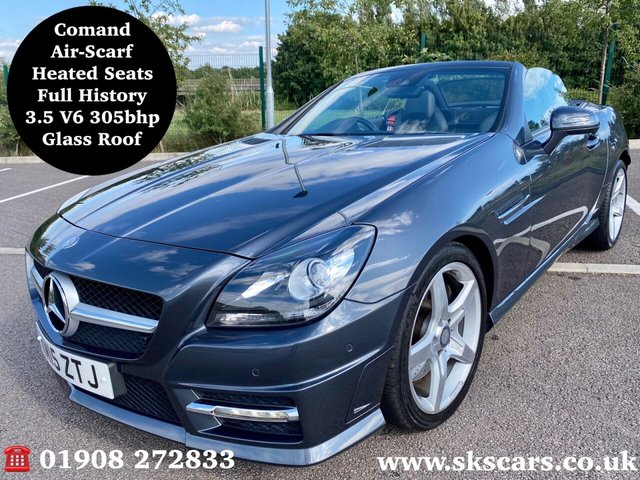 2015 15 MERCEDES-BENZ SLK 3.5 SLK350 BLUEEFFICIENCY AMG SPORT 2d 306 BHP