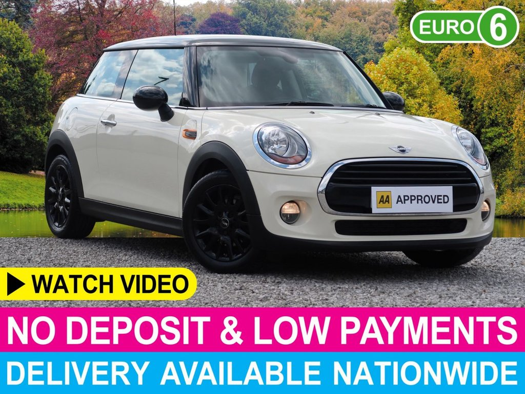 USED 2017 66 MINI HATCH COOPER 1.5 COOPER D 3DR BLACK PACK BLACK ROOF WHEELS MIRROR CAPS
