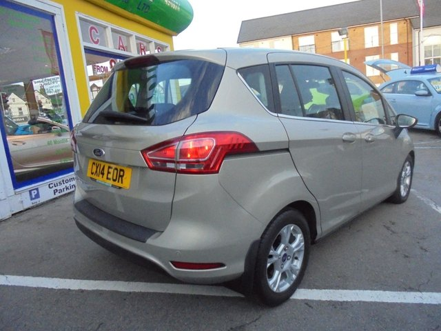 USED 2014 14 FORD B-MAX 1.6 ZETEC TDCI 5d 96 BHP CLICK AND COLLECT ON YOUR NEXT CAR