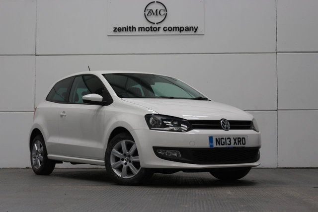 2013 13 VOLKSWAGEN POLO 1.2 MATCH EDITION 3d 59 BHP