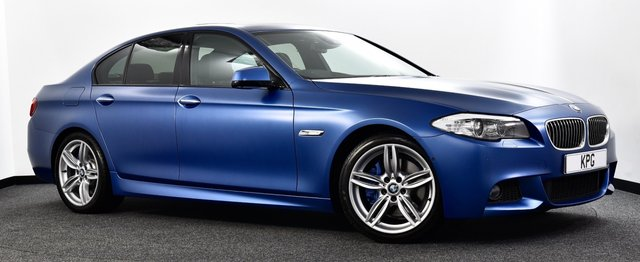 USED 2012 62 BMW 5 SERIES 3.0 535d M Sport 4dr Auto £10k Extra's, Head up, Sunroof