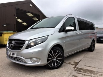 2016 MERCEDES-BENZ VITO 2.1 114 BLUETEC TOURER SELECT 5d 136 BHP £19999.00
