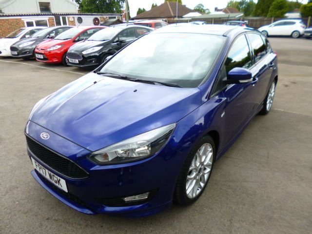 2017 17 FORD FOCUS 1.0 ST-LINE ECOBOOST 125 BHP