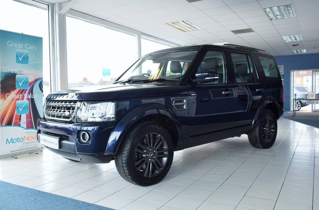 2016 16 LAND ROVER DISCOVERY 4 3.0 SDV6 GRAPHITE 5d 255 BHP VAT QUALIFYING
