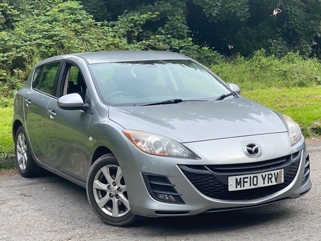 USED 2010 10 MAZDA 3 1.6 TS2 5d 105 BHP FULL SERVICE HISTORY, MOT UNTIL MARCH 2021, BLUETOOTH, CRUISE CONTROL